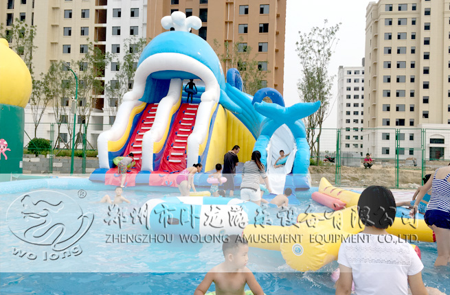 inflatable water slide(5)